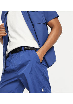 Polo Ralph Lauren x ASOS exclusive collab ripstop shorts in navy with belt fastening and pony logo