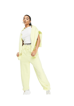 ASYOU co-ord jogger in lime-Green