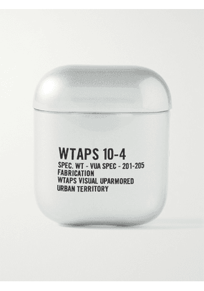 WTAPS - 10-4 Printed TPU AirPods Case - Men - Silver