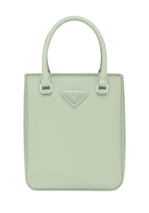 Small Leather Shopping Top Handle Bag