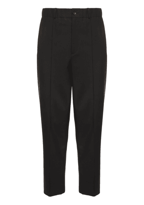 Wool Mohair Regular Trousers
