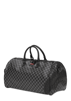 Henny Checkered Sharkmouth Duffle Bag