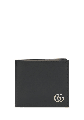 Gg Marmont Leather Bi-fold Wallet