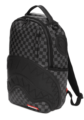 Henny Checkered Sharkmouth Backpack