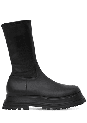 50mm Hurr Sock Leather Boots