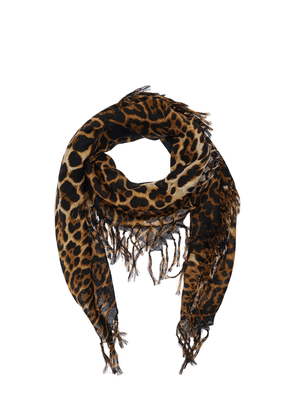 Leo Wool Toile Square Scarf