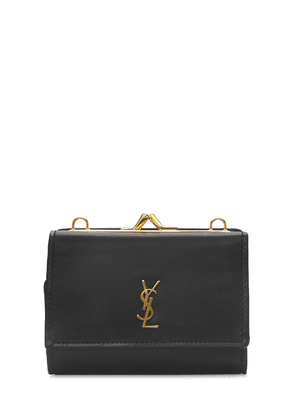 Ysl Leather Rider Wallet