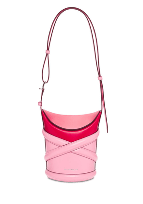 The Curve Small Leather Shoulder Bag