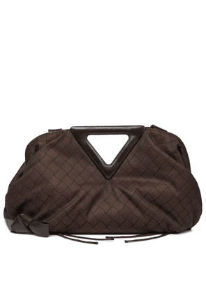 Point Medium jacquard shoulder bag