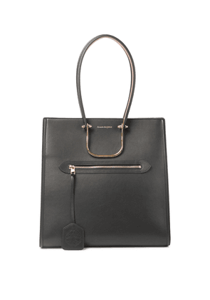 The Tall Story leather tote