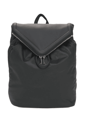 Hydrology Leather Backpack