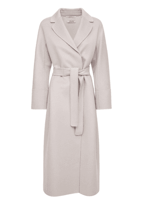 Double Wool & Cashmere Belted Coat
