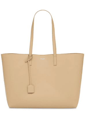 Unstructured Soft Leather Tote Bag