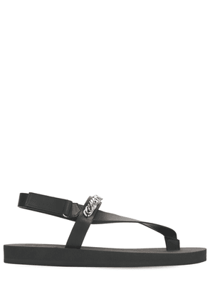 10mm Leather & Rubber Sandals