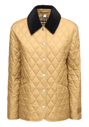 Quilted Buttoned Short Jacket