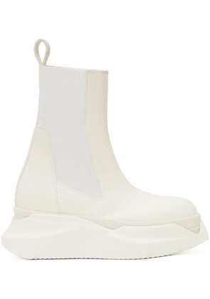 Rick Owens Drkshdw Off-White Beatle Abstract Boots