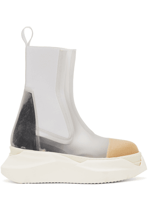 Rick Owens Drkshdw Transparent Beatle Abstract Boots