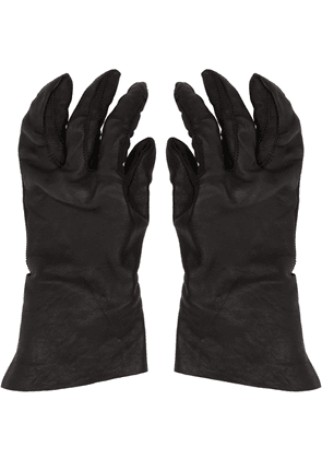 Boris Bidjan Saberi Black Vegetable-Tanned Gloves