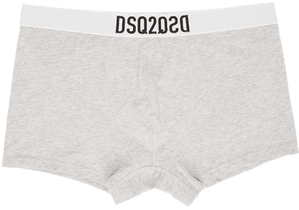 Dsquared2 Grey Logo Trunk Boxers