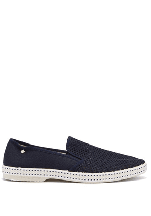 Rivieras - Classic 20° Canvas Loafers - Mens - Blue