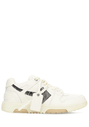 Out Of Office Leather Low Sneakers