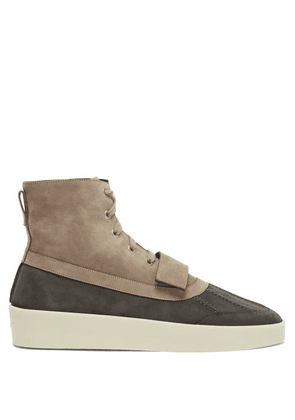 Fear Of God - Nubuck Duck Boots - Mens - Brown
