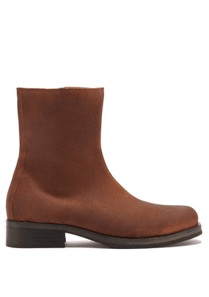 Our Legacy - Camion Suede Boots - Mens - Brown