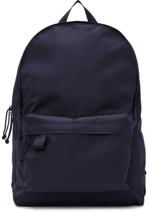 N.Hoolywood Navy Porter Edition Canvas Large Backpack