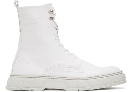 Virón White Apple Leather 1992 Boots