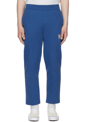 Opening Ceremony Blue Warped Logo Lounge Pants