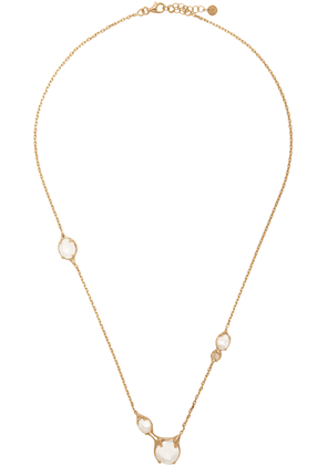 Alan Crocetti Gold Droplet Necklace