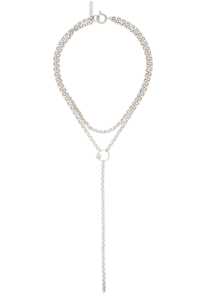 Justine Clenquet Silver Saul Necklace