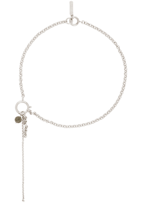 Justine Clenquet Silver Lula Necklace