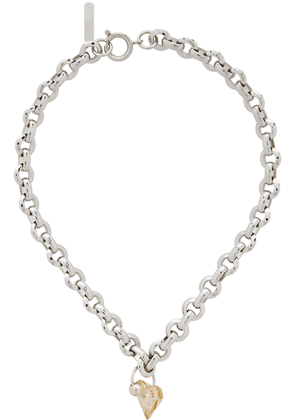 Justine Clenquet Silver Madison Choker