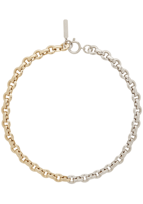 Justine Clenquet Gold & Silver Norma Choker