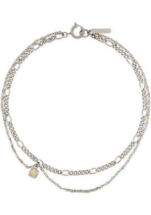 Justine Clenquet Silver Suzanne Necklace