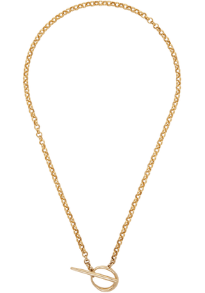 Faris Gold Anka Lariat Necklace