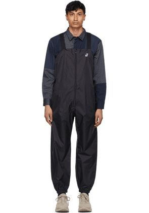 Engineered Garments Black K-Way Edition Packable Perry 3.0 Overalls