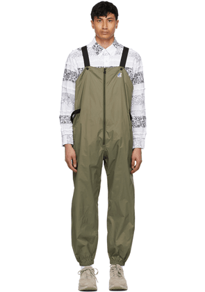 Engineered Garments Khaki K-Way Edition Packable Perry 3.0 Overalls
