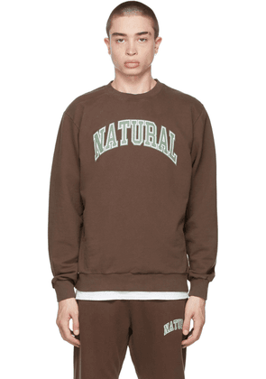 Museum of Peace & Quiet Brown 'Natural' Sweatshirt