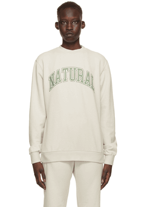 Museum of Peace & Quiet SSENSE Exclusive Beige 'Natural' Sweatshirt