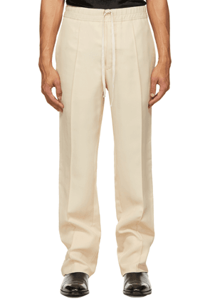 TOM FORD Beige High Shine Atticus Trousers