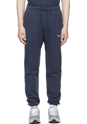 Museum of Peace & Quiet Navy Wood Mark Lounge Pants