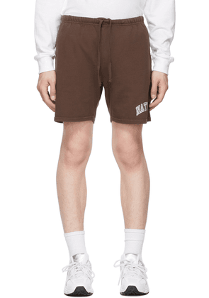 Museum of Peace & Quiet Brown 'Natural' Gym Shorts