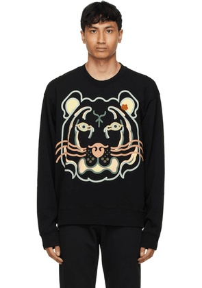 Kenzo Black WWF Edition K-Tiger Sweatshirt