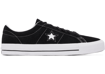 Converse Black One Star Pro Low Sneakers