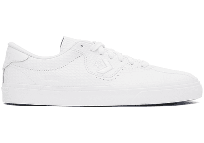 Converse White Leather 'Heart Of The City' Louie Lopez Pro Sneakers