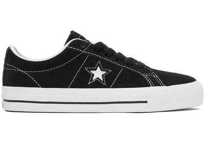 Converse Black CONS One Star Pro Skate Sneakers