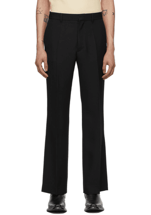 Second/Layer Black Paso Flared Trousers