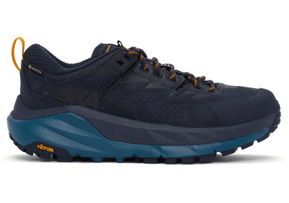 Hoka One One Navy Gore-Tex® Kaha Low Sneakers
